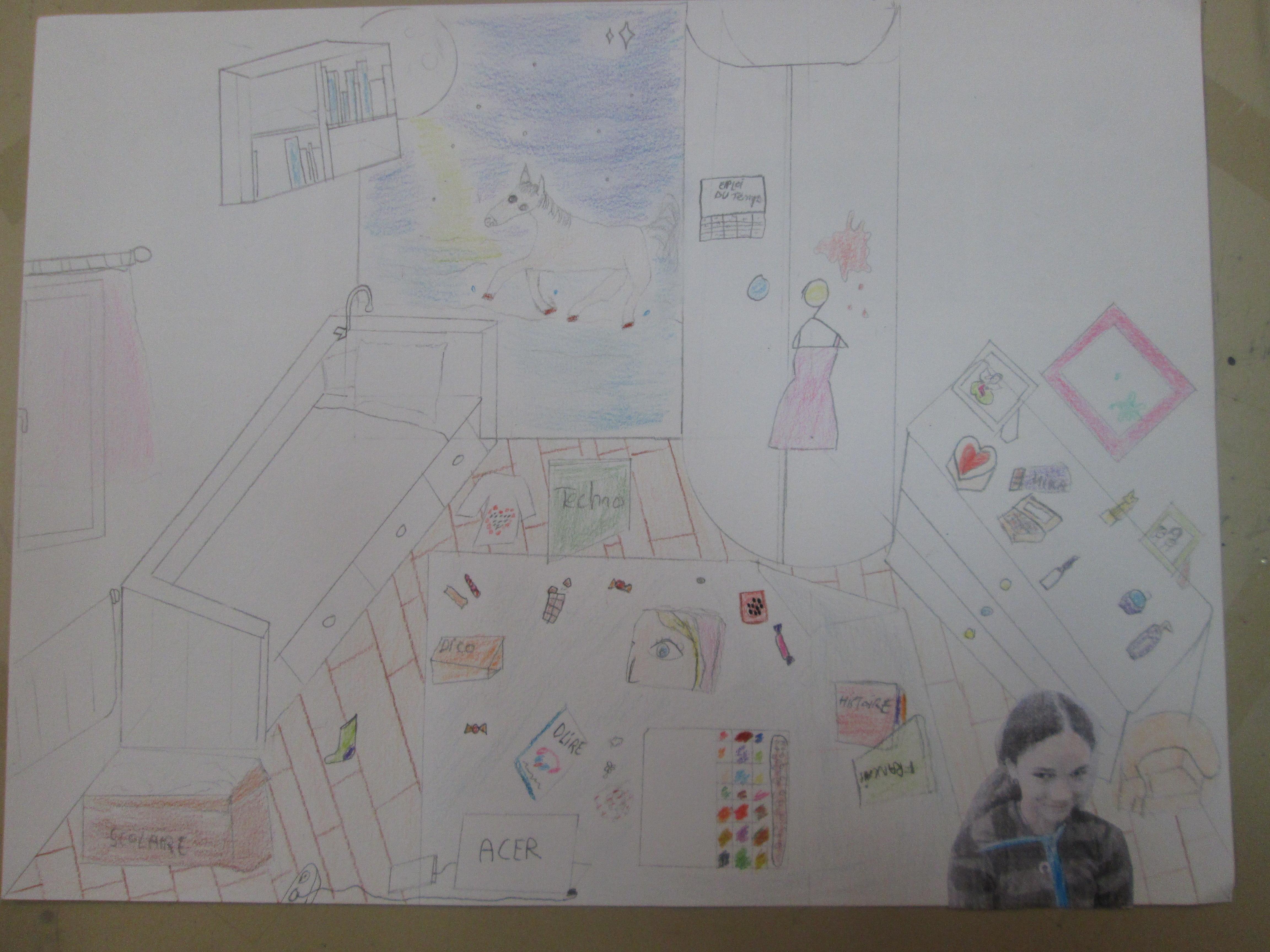 Dérange ta chambre ! | Collège Henri Wallon, Savigny-le-Temple